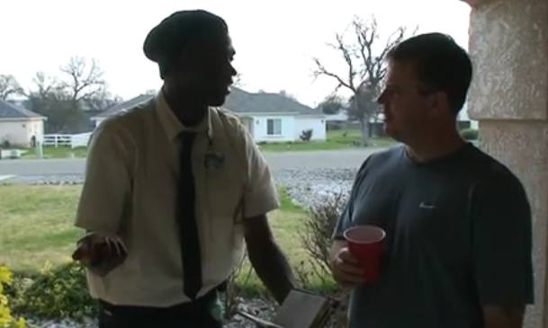 Is this One Of The Best Door-To-Door Salesman Ever!?